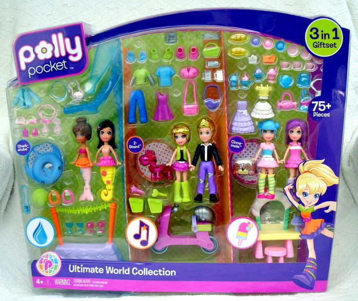 Wonderful Fun ~New Polly Pocket Ultimate World Collection at MommyOf2QT's