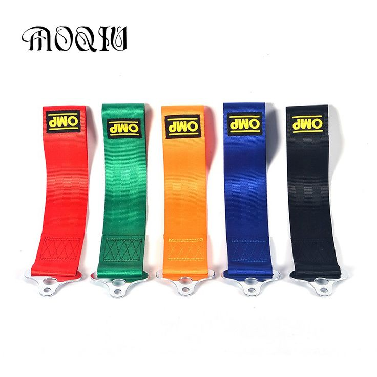 5 Color OMP Towing Rope Nylon Tow Eye Strap Tow Loop Strap Racing Drift Rally Emergency Tool Front Rear Bumper Hook -- Details on product can be viewed by clicking the image
