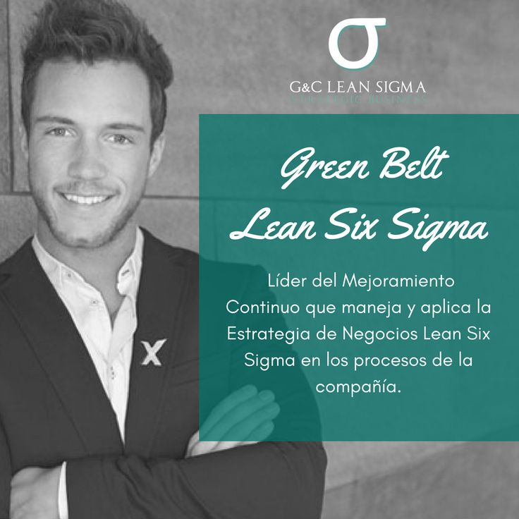 Certificación Green Belt Lean Six Sigma. Contáctanos formacion@gycsigma.co #greenbelt #sixsigma #lean http://gycsigma.co/Green-Belt.html