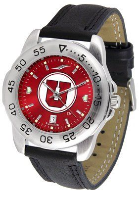 Utah Utes- University Of Sport Leather Band Anochrome - Men's - Men's College Watches by Sports Memorabilia. $50.76. Utah Utes- University Of Sport Leather Band Anochrome - Men's
