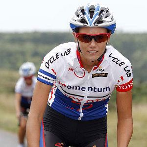 """""""South Africa's Cherise Stander created a piece of history on Sunday when she raced to victory on the first stage of the women's..."""