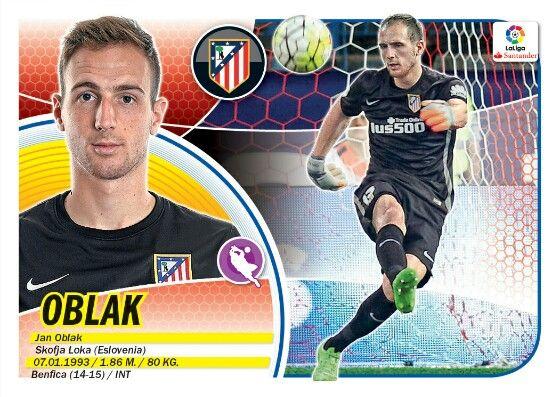 Jan Oblak - Atletico de Madrid - LIGA BBVA - 2016-2017 PANINI