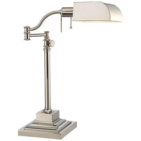 1000 ideas about Bankers Desk Lamp – Nickel Desk Lamp