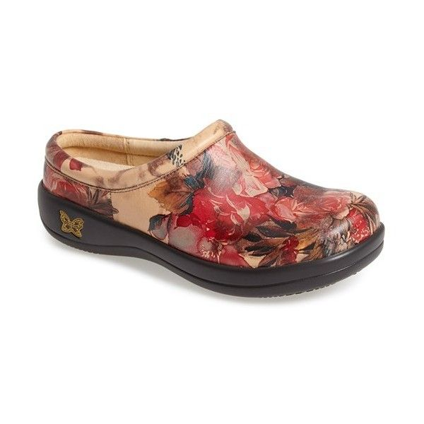 Women's Alegria 'Kayla' Clog (£92) ❤ liked on Polyvore featuring shoes