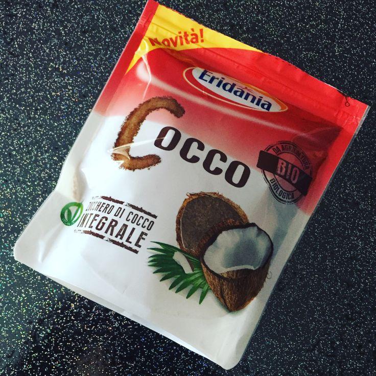 New 😋 #bellezzaprecaria #zucchero #sugar #cocco #cocoa #cocoasugar #zuccherodicocco #vegan #eridania #bio #zuccherodicoccointegrale #new #bioagricert #glutenfree