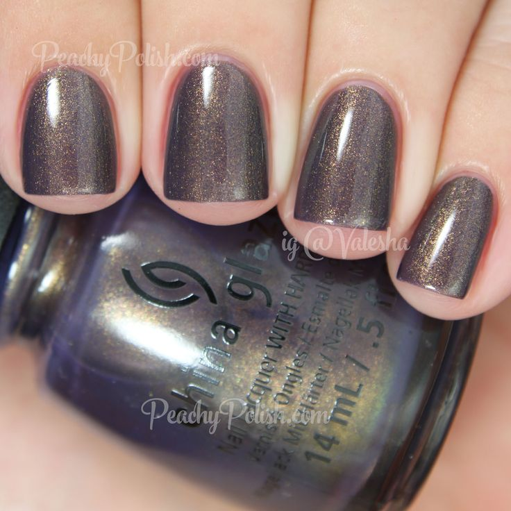 China Glaze Choo-Choo Choose You | Fall 2014 All Aboard Collection | Peachy Polish