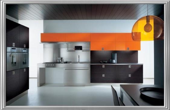 Letisztult stílusú, modern konyhabútor garnitúra #home #konyha #kitchen #furniture #konyhabútor #style
