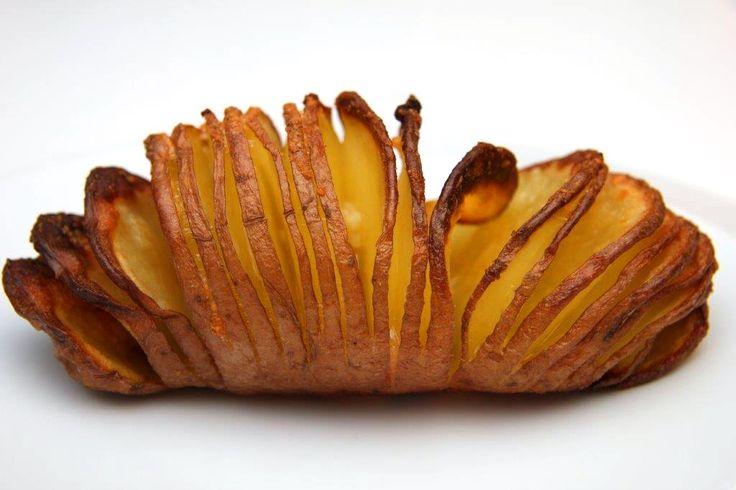 Hasselback burgonya recept