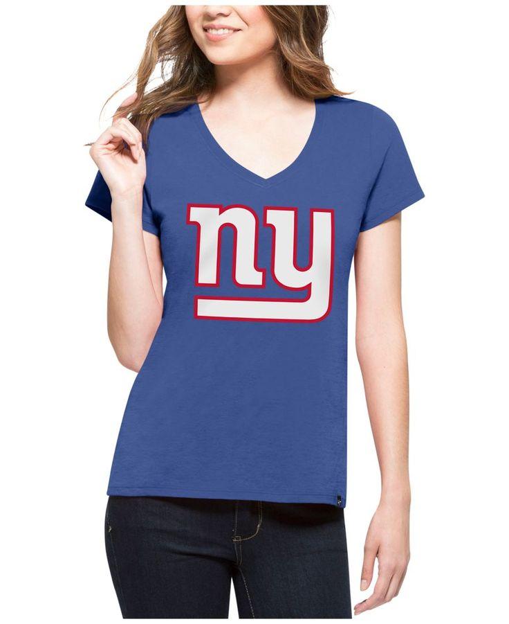 '47 Brand Women's New York Giants Splitter Logo T-Shirt