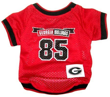 Dog Supplies Georgia Bulldogs Jersey Large - http://www.thepuppy.org/dog-supplies-georgia-bulldogs-jersey-large/