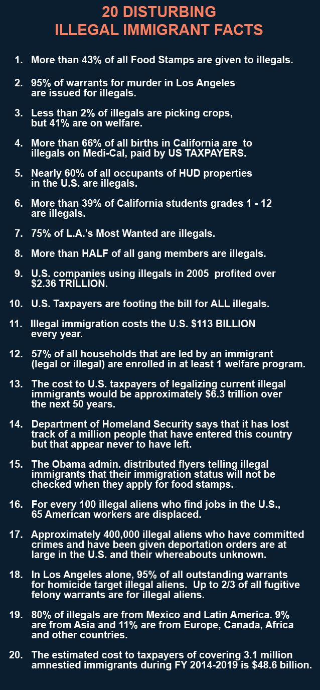 the effects of illegal immigration Immigration has a few negative effects on the united states, including the use of government services without tax deductions as illegal immigration brings undocumented workers, adding to overpopulation in cities and hurting americans by competing with them for jobs.