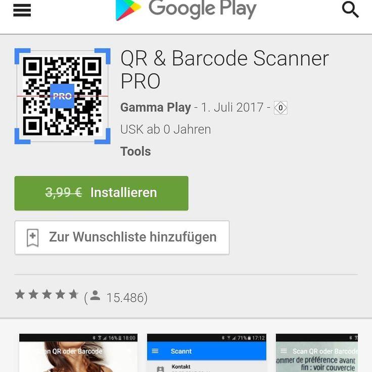 [ APP ] QR & Barcode Scanner PRO for Free! Der beste QR & Barcode Scanner ever!  http://ift.tt/1UTJNpy  Mehr zum Thema #android findest du auch auf meinem Blog:  http://ift.tt/2igY1oL  #android #androidonly #google #photography #instapic #googleandroid #droid #instandroid #instaandroid #instadroid #instagood #ics #samsung #samsunggalaxys7 #samsunggalaxyedge #samsunggalaxy #phone #smartphone #mobile #androidography #androidographer #androidinstagram #androidnesia #androidcommunity #teamdroid…