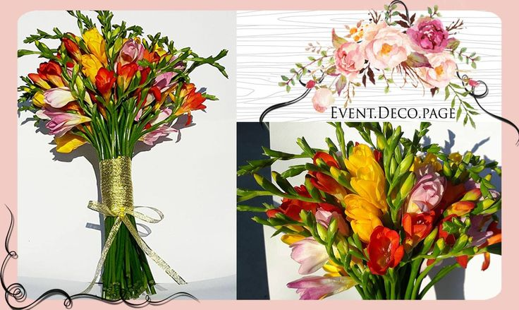 Flowers bouquet @ Civil wedding by Event Deco. Find us on Facebook, Event.Deco.page!