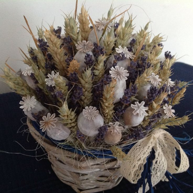 dry flower decoration