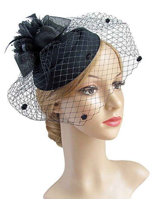 2b2f6f755b2 1950s Hats  Pillbox