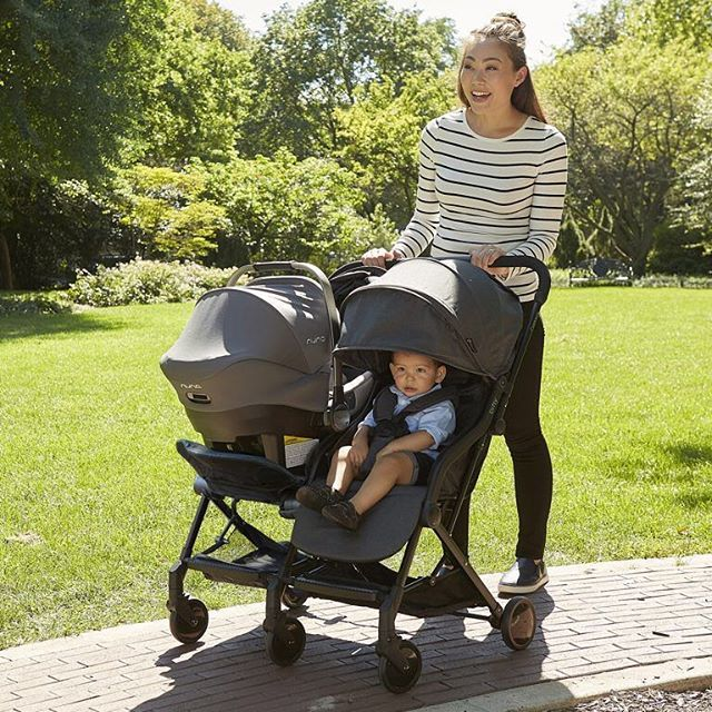 Lightweight. Compact. Car seat compatible. UPF 50