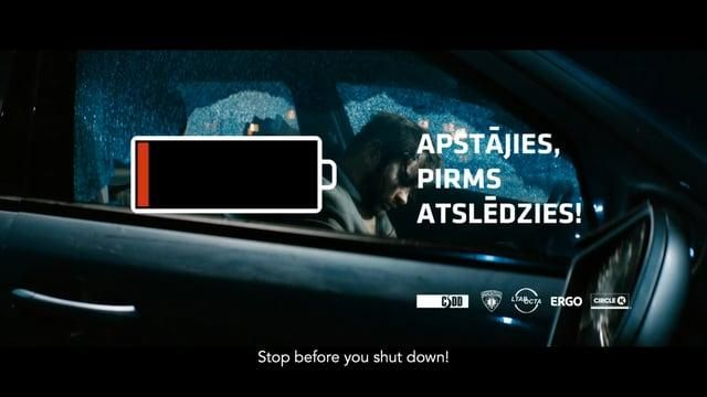 Road Traffic Safety Department Latvia: Stop Before You Shut Down!