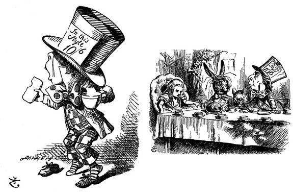 "The saying ""mad as a hatter"" dates back to the 19th century, when mercuric nitrate was used in the millinery industry to turn fur into felt. Hatters working in poorly ventilated factories breathed in toxic fumes, and prolonged exposure led to mercury poisoning with symptoms— such as trembling, memory loss, depression, irritability, and anxiety—that are still described as ""mad hatter's disease."""