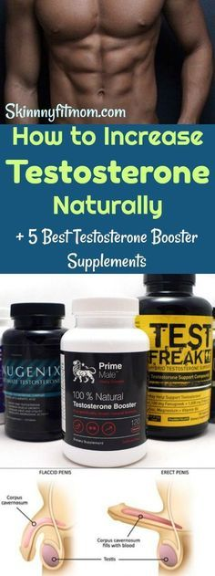 How to Increase Testosterone Naturally + 5 Best Testosterone Booster Supplements: Get the best testosterone booster supplement to increase #testosterone naturally within a week.