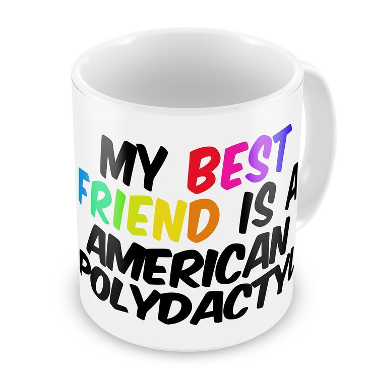 Coffee Mug My best Friend a American Polydactyl Cat from United States - Neonblond ** Check this awesome image  : Cat mug