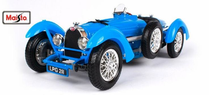 (59.98$)  Know more - http://aiklr.worlditems.win/all/product.php?id=32803224941 - Maisto Bburago 1:18 1934 Bugatti Type 59 Diecast Model Car Toy New In Box Free Shipping