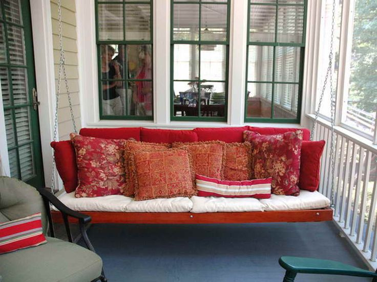 Contemporary Porch Swing for Outdoor   Fortikur