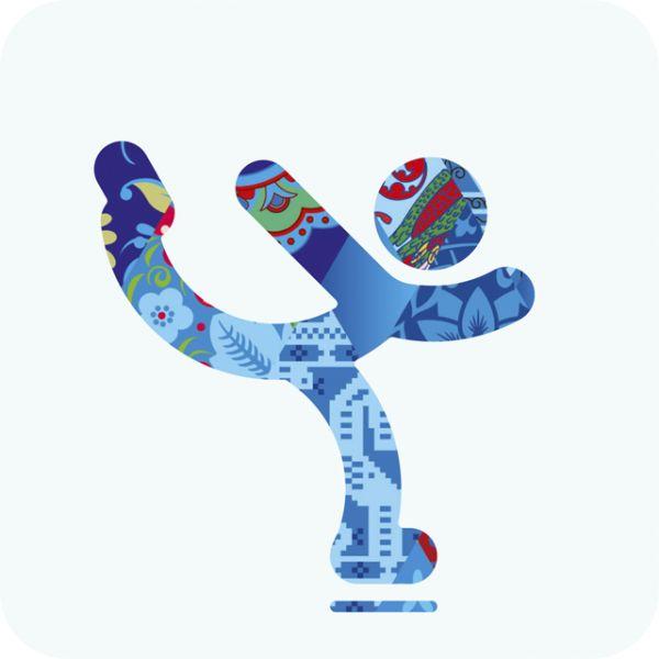Les pictogrammes des jeux olympique dhiver 2014 de Sochi