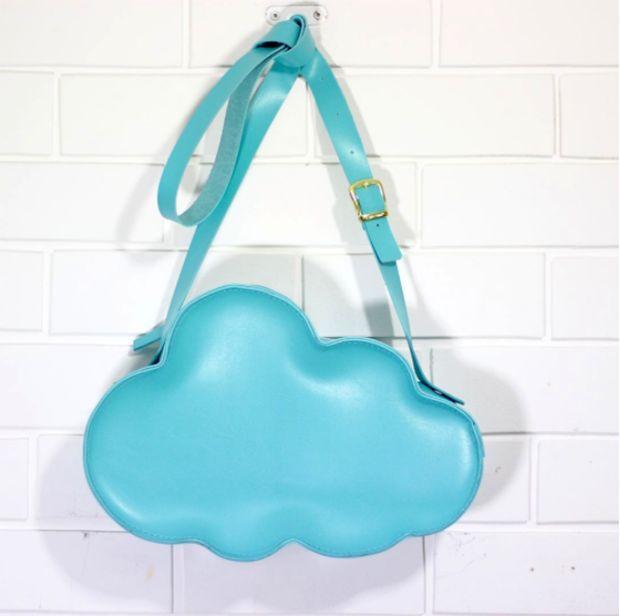 Bolsa nuvem feita à mão - Abicatori