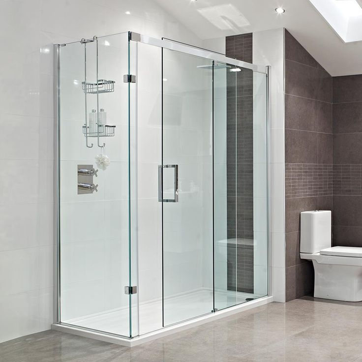 Decem Sliding Door Shower Enclosure --- The sublime soft close Sliding Door presents a silent and ultra-smooth running door action, whilst creating a style statement in the bathroom --- Available from Roman Ltd - British Made Luxury Shower Enclosures and Bath Screens. Images Copyright www.roman-showers.com