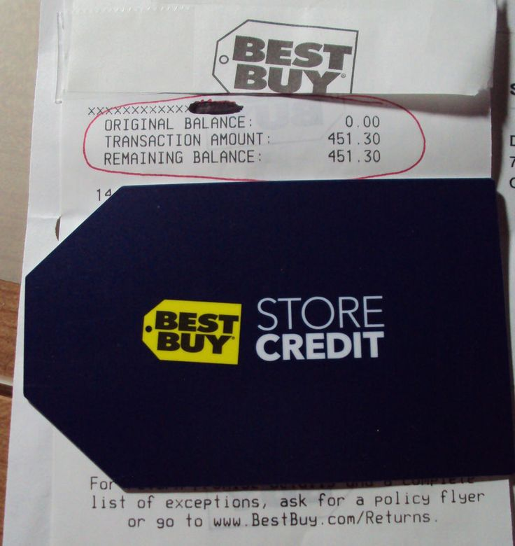 Best Buy Gift Card / Store Credit $451.30 Electronics Home ...