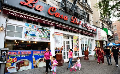 La Casa Del Mofongo, Washington Heights NYC, great lunch with Matt