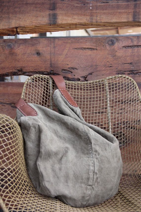 driftwood slouch bag