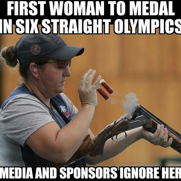 Kim Rhode, the FIRST WOMAN and first Summer #Olympian to medal in SIX consecutive #Olympics.   Rhode began competing in #skeet at age 10 and at 13, won her first world championship title in women's double trap #shooting.