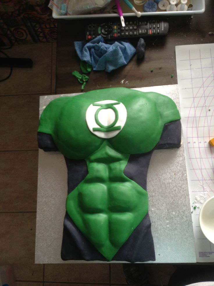 Green Lantern Cake Decorating Kit : Best 25+ Green lantern cake ideas on Pinterest Green ...