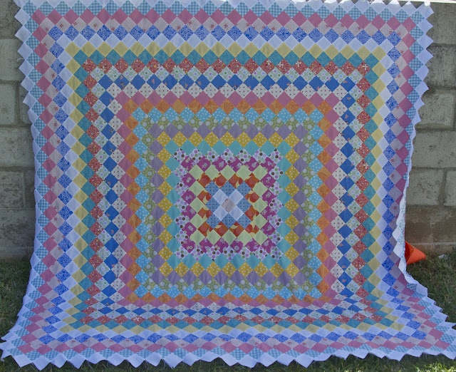 129 best Quilts: Trip Around The World (and variations) images on Pinterest