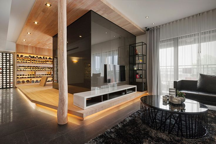 Stylish Open-Plan Apartment in Taipei Showcasing F…