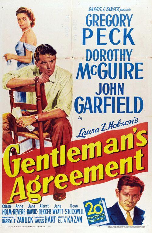 Gentleman's Agreement (1947) Full Movie Streaming HD