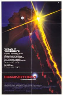 BRAINSTORM (1983) Christopher Walken, Natalie Wood, Cliff Robertson, Louise Fletcher, Donald Hotton, Alan Fudge, Joe Dorsey, Jason Lively. Director: Douglas Trumbull.