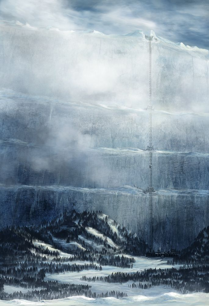 The Wall - Game of Thrones by *ChristianGerth on deviantART #got #agot #asoiaf