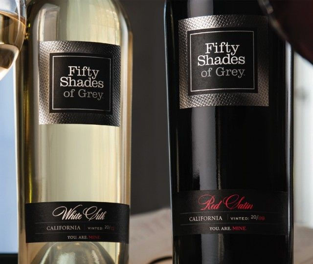50 Shades of Grey author E L James has launched a range of wines inspired by the erotic trilogy.