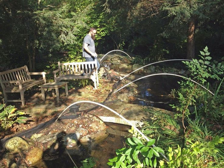 Last week was the official first day of fall and you know what that means … it's time to install Aquascape Protective Fall Pond Netting to catch autumn leaves b…