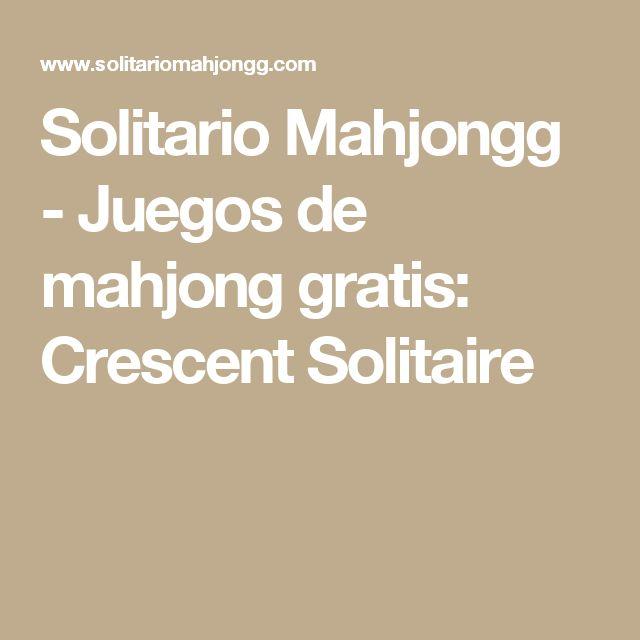 Solitario Mahjongg - Juegos de mahjong gratis: Crescent Solitaire