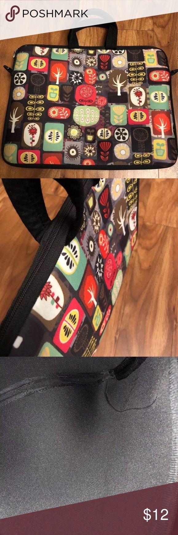 """MyGift 14"""" Laptop Sleeve Carrying Case Neoprene-Like Laptop/Carrying/Bag Sleeve Case Cover 14"""" wide Other"""