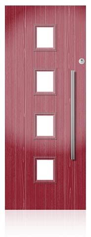GRP Composite Contemporary Front and Back Doors | Everest