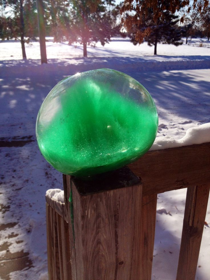 17 best images about frozen water balloons on pinterest for What happens to concrete if it freezes