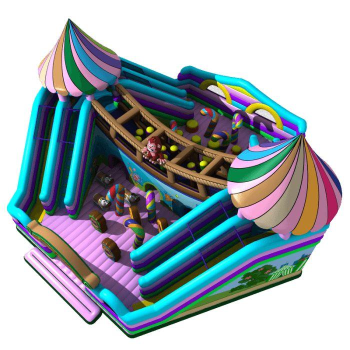 Название: Надувной батут «Сладкий домик» Категория: Надувные аттракционы Источник: https://batutmaster.ru/product/naduvnojj-batut-sladkijj-domik Описание:   Яркий батут, напоминающий вкусное кулинарное лакомство, представлен в самых необычных цветовых решениях: сиреневый, фиолетовый