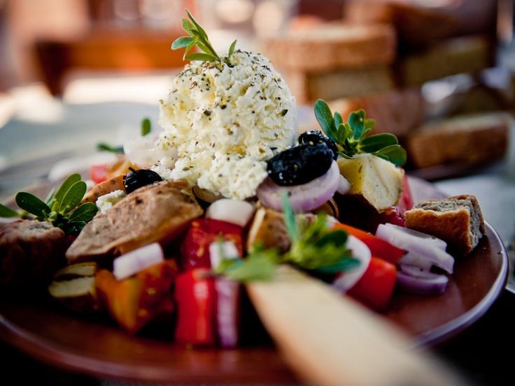Lets talk about Cretan Food!  www.cretetravel.com  #Crete #Cretan #Food #Cuisine #Delicious #taste #tastefull #salad #vegetables #cheese #feta #olives #tomatoes #Holidays #Relaxing #Enjoy