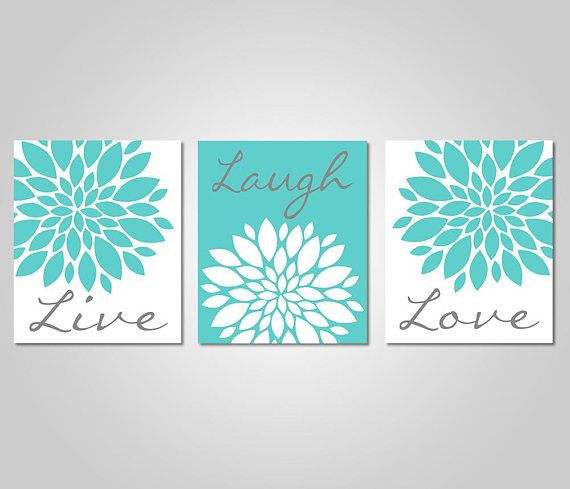 INSTANT DOWNLOAD – DIY Printable Wall Art – Dahlia Flower Burst Wall Art – Live Laugh Love – Bedroom Dandelion Art – Teal Grey Decor ★★★ ITEM DESCRIPTION ★★★ ♥ Instant download ♥ No waiting, no shipping fees ♥ Print and Frame it yourself ***** This listing is for a DIGITAL DOWNLOAD