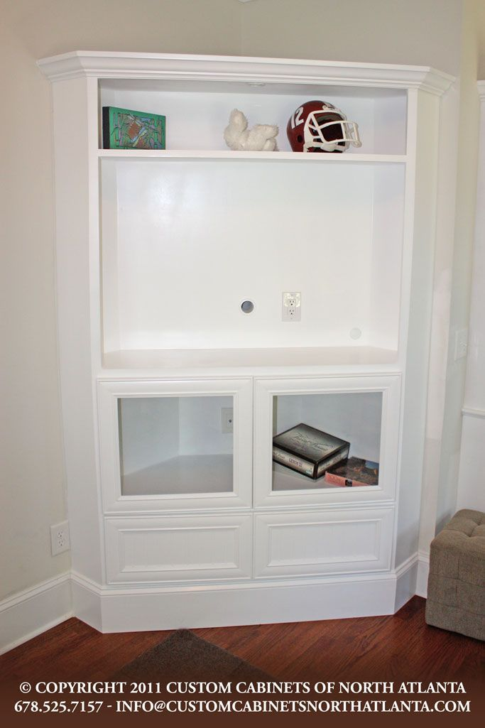 40602834114568302 Loving This Built In! Perfect For Corner TV Tv Armoire  Cottage Style