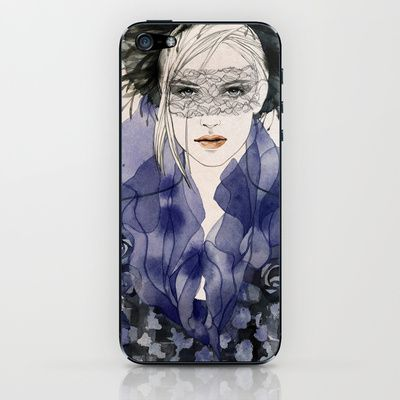 Jackie 1 iPhone & iPod Skin by Alicia Malesani - $15.00